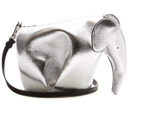 LOEWE Elephant mini leather cross-body bag