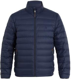 Polo Ralph Lauren Logo-embroidered quilted down jacket