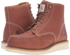Carhartt 6-Inch Steel Toe Waterproof Wedge Boot Men's Work Boots