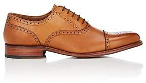 Grenson MEN'S TOM LEATHER BALMORALS