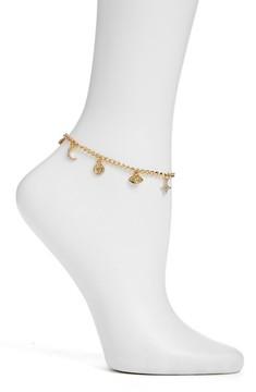 Ettika Women's Charm Anklet