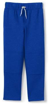 Lands' End Lands'end School Uniform Boys Husky Iron Knee Classic Sweatpants