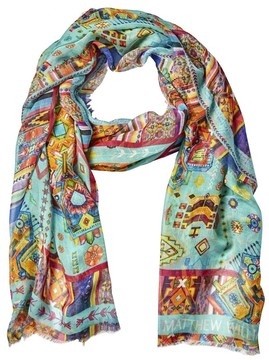 Matthew Williamson Inca Jewel Modal Cashmere Scarf