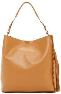 AllSaints Pearl Leather Hobo Bag
