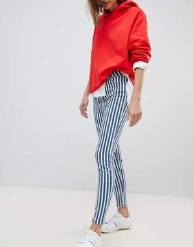 Stradivarius Striped Jeans