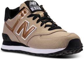 New Balance Women's 574 Seasonal Shimmer Casual Sneakers from Finish Line