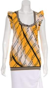 Christian Lacroix Striped Knit Top
