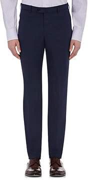 Isaia Men's Slub-Weave Gregory Trousers