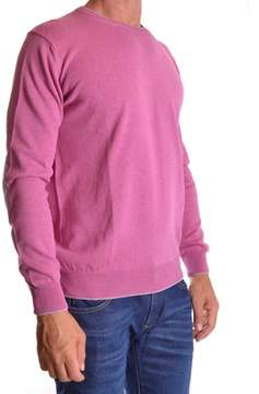 Altea Men's Pink Cotton Sweater.