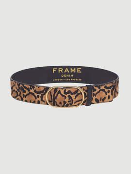 Frame Oval Cheetah Belt