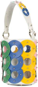 Sara Battaglia Zoe Circle Bucket Bag - Multicolor