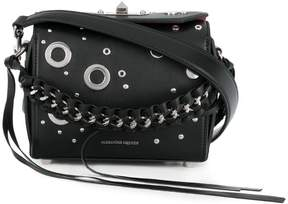 Alexander McQueen embellished Box bag