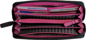 Royce Leather Fan Wallet 158-6 (Women's)