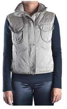 Geospirit Women's Grey Polyester Vest.
