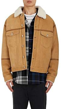 Alexander Wang Men's Shearling Trucker Jacket
