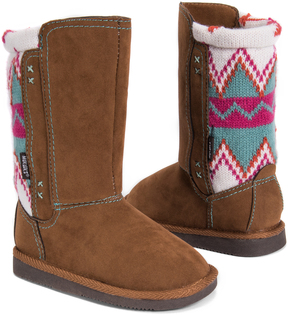 Muk Luks Tan Stacy Boot - Kids