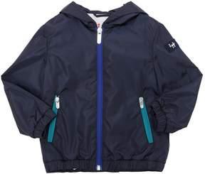 Il Gufo Hooded Nylon Jacket
