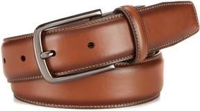 Roundtree & Yorke Big & Tall Amigo Leather Dress Belt