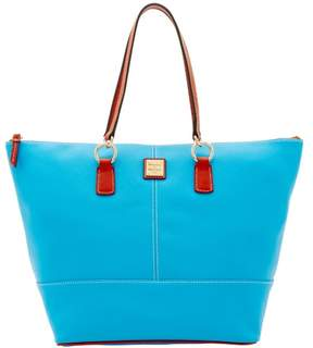 Dooney & Bourke Pebble Grain O Ring Shopper Tote - AEGEAN BLUE - STYLE