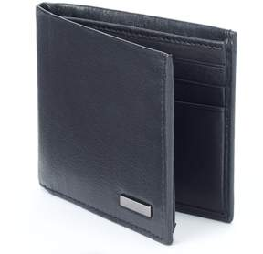 Apt. 9 Traveler Rfid-Blocking Leather Bifold Wallet - Men