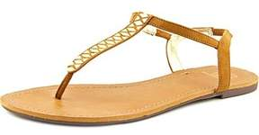 Material Girl Sage Canvas Gladiator Sandal.