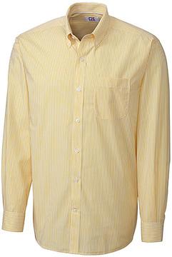 Cutter & Buck Yellow Stripe Button-Up - Men