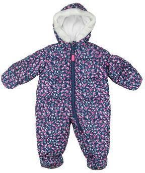 Carter's Baby Girl Floral Print Snowsuit