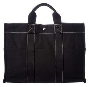 Hermes Black Canvas Deauville Mm. - BLACK MULTI - STYLE