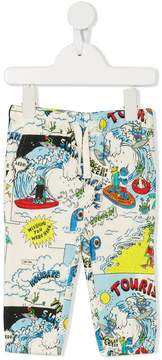 Stella McCartney Josh print trousers