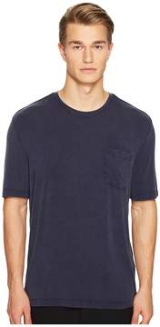 ATM Anthony Thomas Melillo Sun Bleached Crew Neck Pocket Tee Men's T Shirt