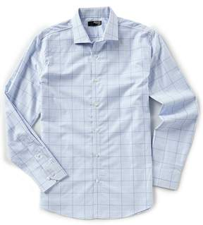 Murano Slim-Fit Liquid Luxury Long Sleeve Spread Collar Window Shirt