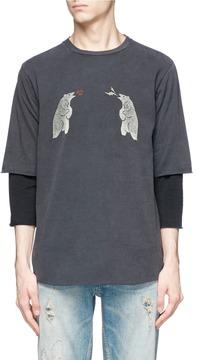 Remi Relief Bear print long sleeve T-shirt