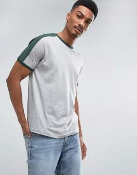 Brave Soul Cut and Sew Ringer T-Shirt