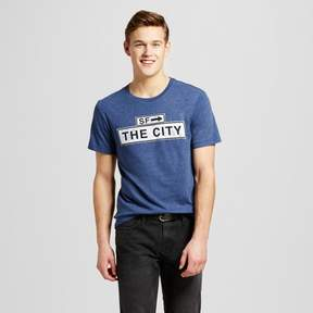 Awake Men's San Francisco City Sign T-Shirt - Navy