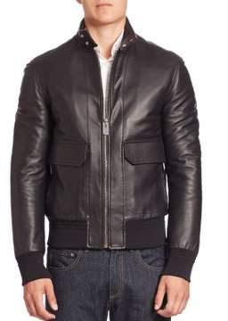 Bally Lamb Leather Jacket
