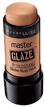 Maybelline New York Face Studio Master Glaze Glisten Blush Stick, Warm Nude.