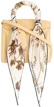 Alexander McQueen scarf trim tote