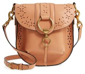 Frye Ilana Harness Perforated Leather Saddle Bag