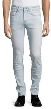 Selected Buttoned Skinny Jeans