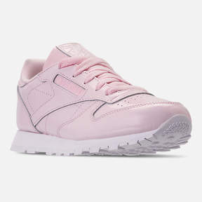 Reebok Girls' Preschool Classic Leather Casual Shoes