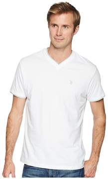 U.S. Polo Assn. Double Ringer V-Neck-04 Men's T Shirt