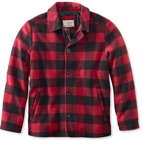 L.L. Bean L.L.Bean Wool Jacket, Plaid