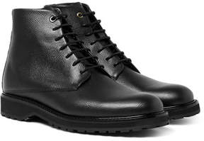 WANT Les Essentiels Montoro Pebble-Grain Leather Boots