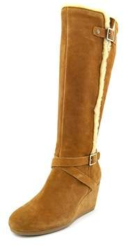 Giani Bernini Pippie Round Toe Suede Knee High Boot.