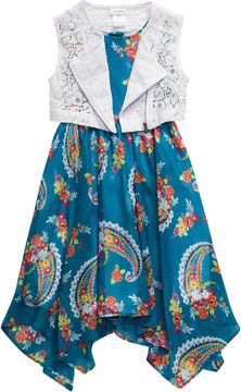 Youngland Young Land Jacket Dress Toddler Girls