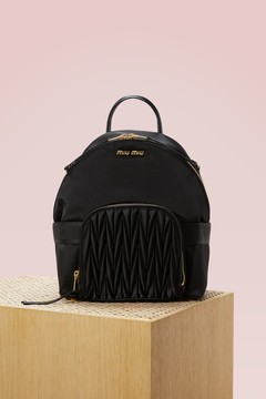 Miu Miu Leather backpack