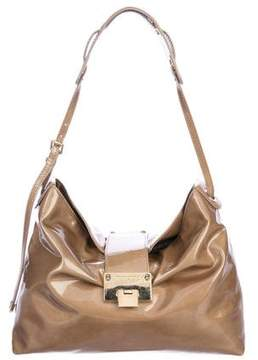 Jimmy Choo Patent Leather Shoulder Bag