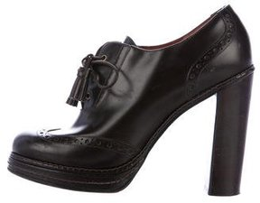 Marc by Marc Jacobs Leather Brogue Booties