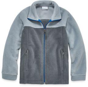 Columbia Zip-up Fleece Jacket- Boys Big Kid