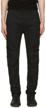 Julius Black Indirect Arched Jeans